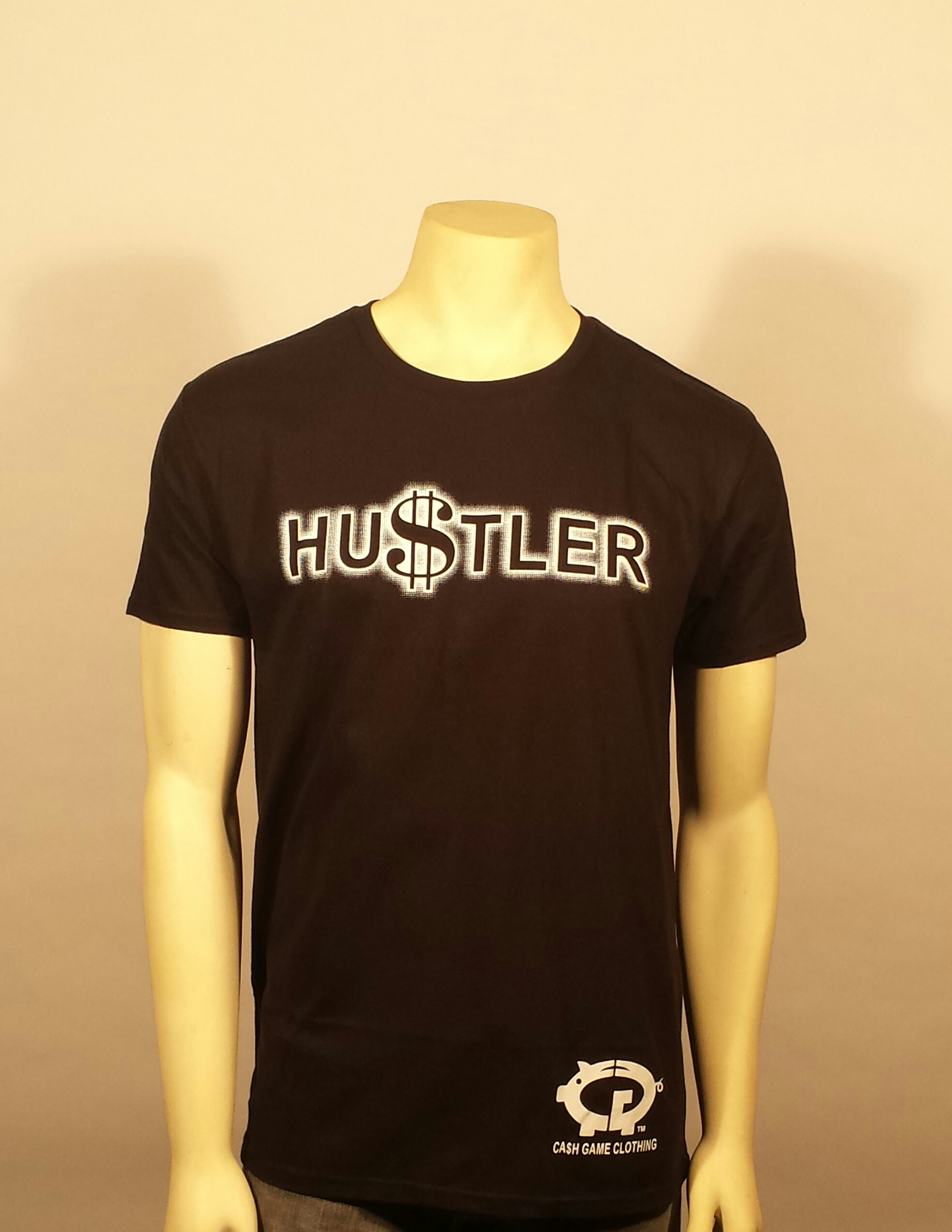 Black hustler shirt